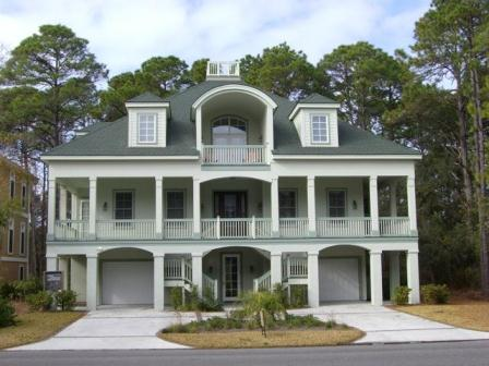 Burkes Beach Custom Home Hilton Head Island