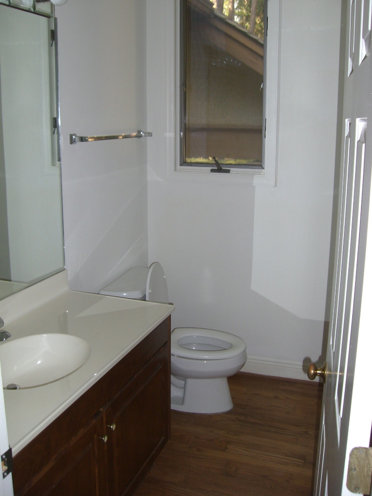 Sea Pines Powder Room Remodel Before